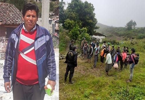 Hallan cadáver de dirigente comunal con varios impactos de bala en Pacobamba
