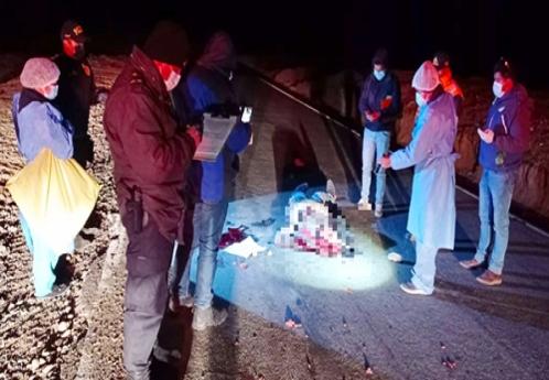Ayudante de chofer encuentra trágica muerte tras saltar de camión por falla de frenos