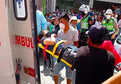 Joven fue atropellado en la esquina del caos vehicular en Las Américas